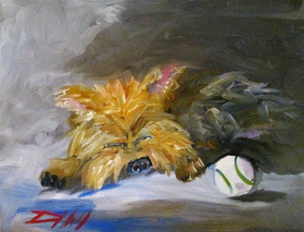 """""""Play Date"""" original fine art by Delilah Smith"""