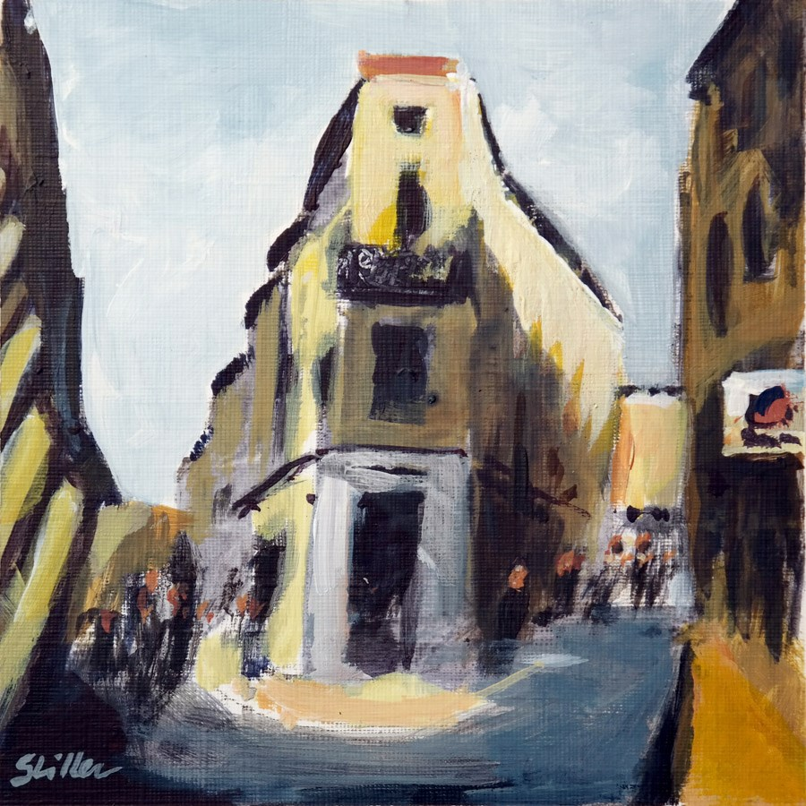 """1917 Hop-to-Aix"" original fine art by Dietmar Stiller"