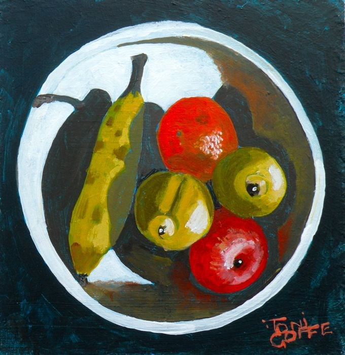 """""""Your 5-a-day"""" original fine art by Toni Goffe"""