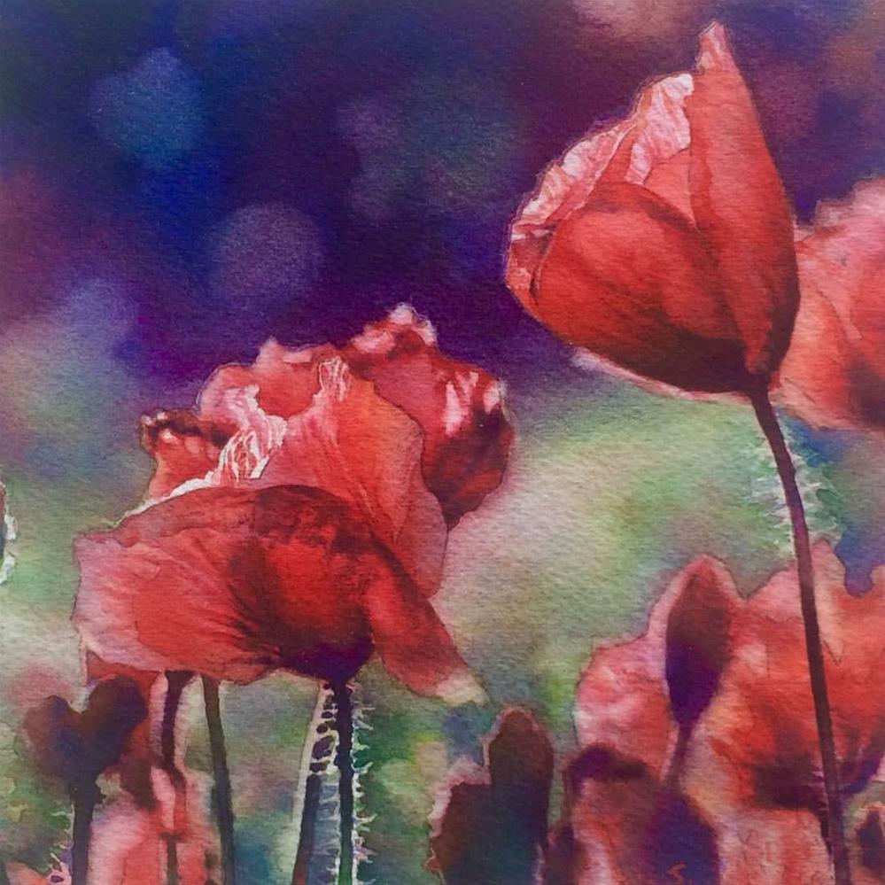 """Field of Dreams"" original fine art by Arena Shawn"