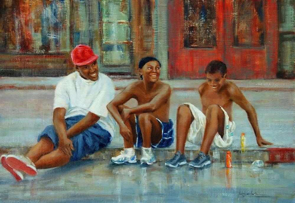"""""""TIME WELL SPENT"""" original fine art by Dj Lanzendorfer"""
