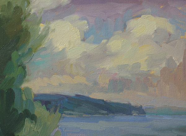 """""""After a Squall"""" original fine art by Kathryn Townsend"""