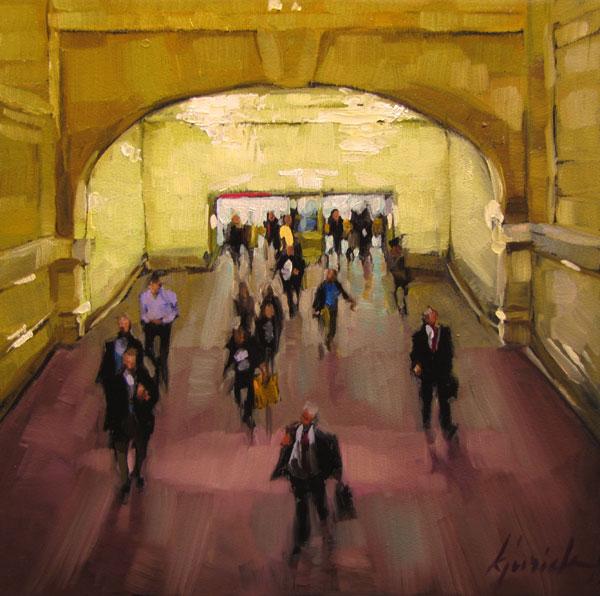 """""""Homeward Bound"""" original fine art by Karin Jurick"""