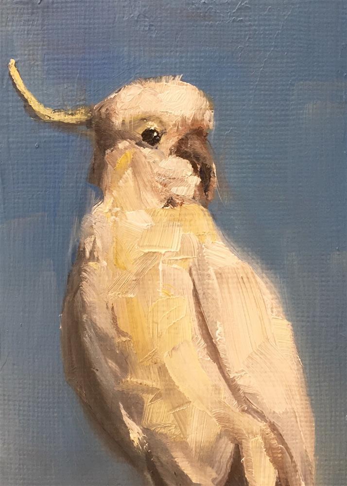 """Sulfur Crested"" original fine art by Gary Bruton"