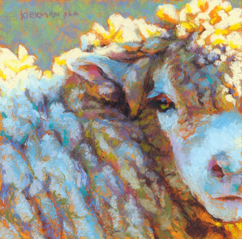 """Cottony"" original fine art by Rita Kirkman"