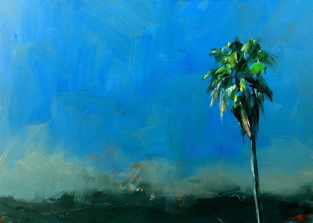 """Plein Air Sky"" original fine art by Gary Bruton"