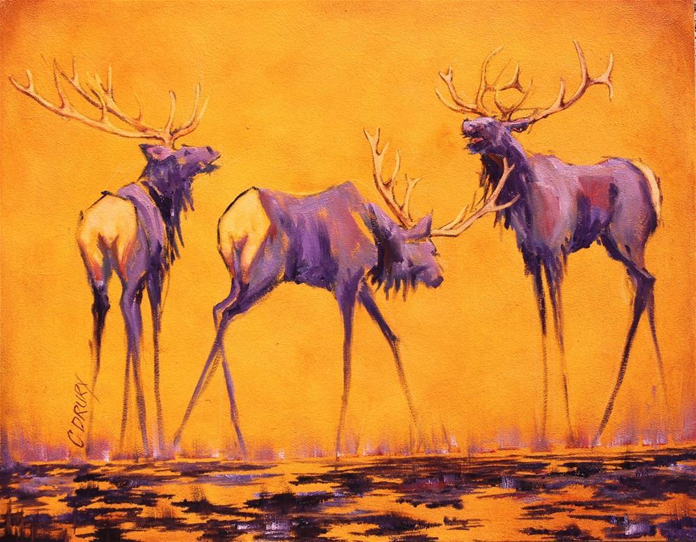 """""""Bring It On"""" original fine art by Colleen Drury"""