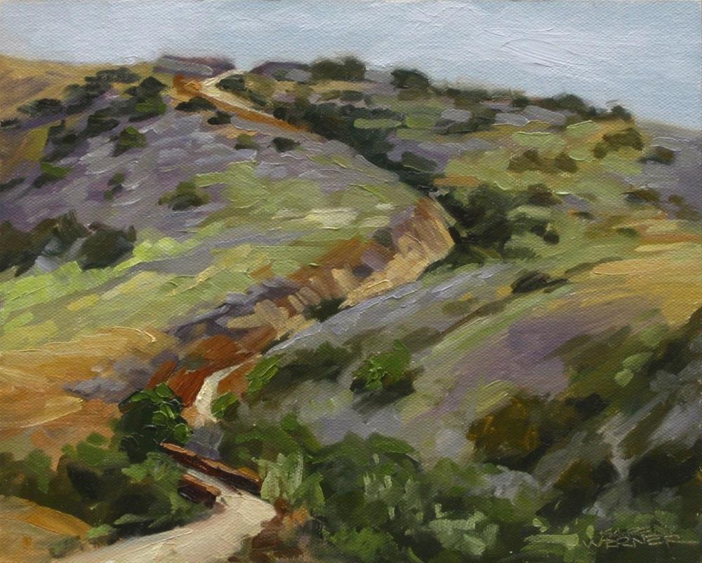 """Up Canyon"" original fine art by Karen Werner"
