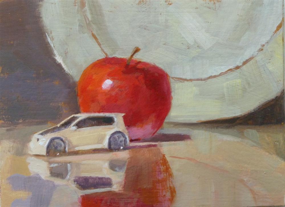 """""""VW Apple"""" original fine art by Ron Ferkol"""