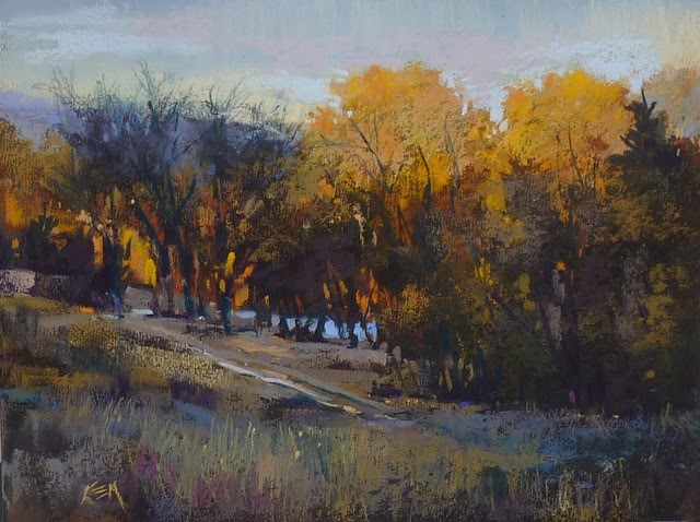 """""""Have You Tried the New Terry Ludwig Pastel Set Yet?"""" original fine art by Karen Margulis"""