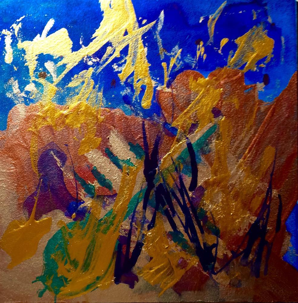 """""""The Jazz Musician"""" original fine art by Susan Medyn"""