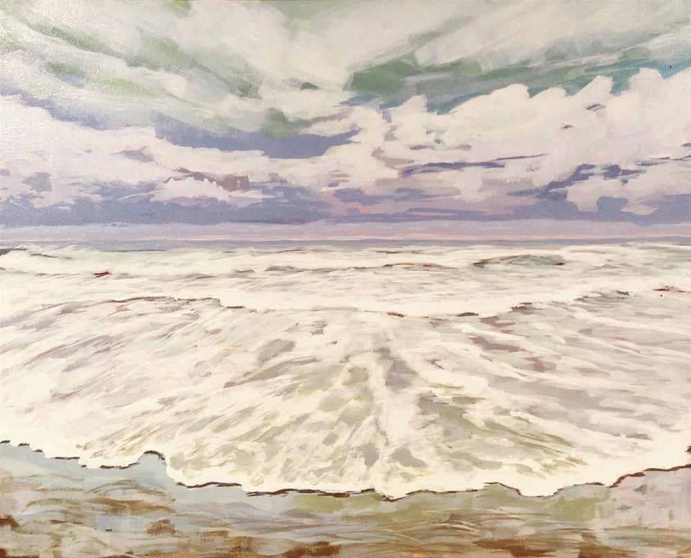 """""""Ocean"""" original fine art by Jim Musil"""