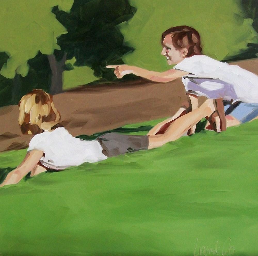 """Look"" original fine art by Brandi Bowman"