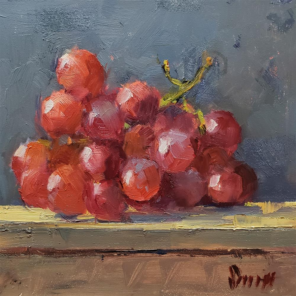 """Juicy Fruit"" original fine art by Barbie Smith"