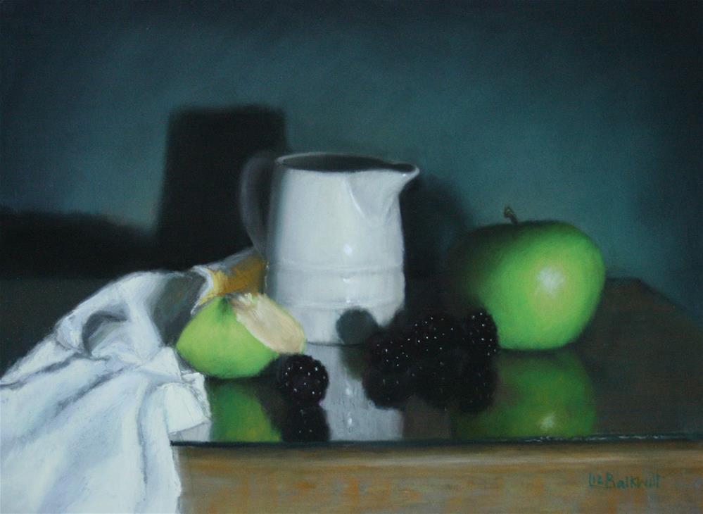 """Bramley and Blackberries"" original fine art by Liz Balkwill"