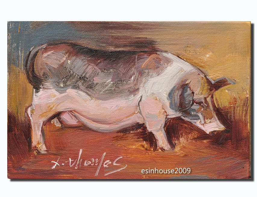 """sow"" original fine art by Thomas Xie"