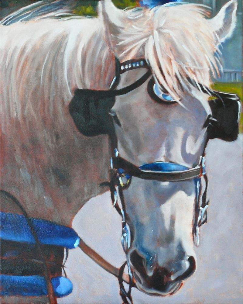 """Molly, oil on canvas, 16x20"" original fine art by Darlene Young"