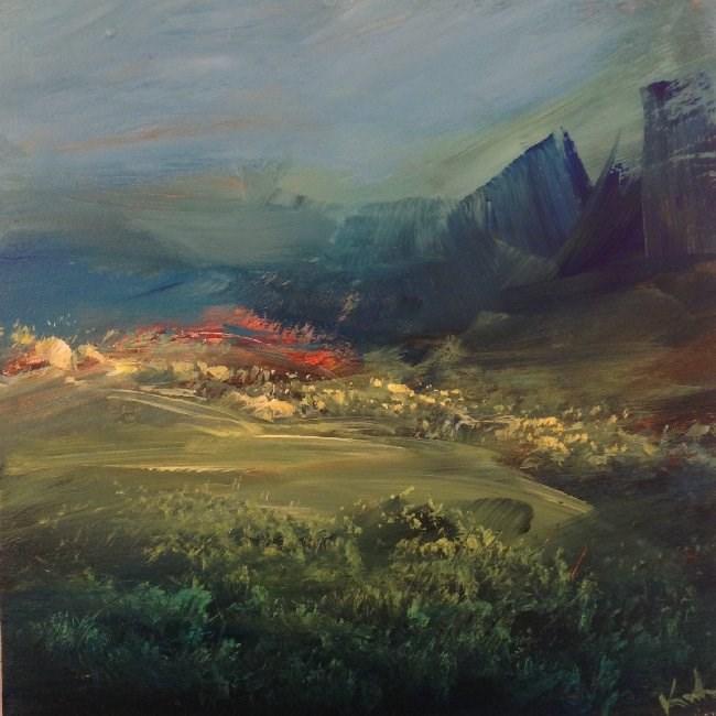 """All Unheard"" original fine art by David Kuhn"