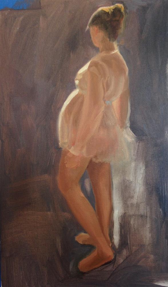 """""""Laura"""" original fine art by Karen D'angeac Mihm"""