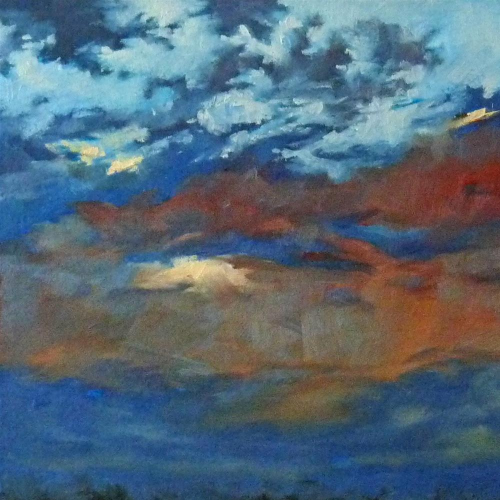 """sky7"" original fine art by Sharman Owings"