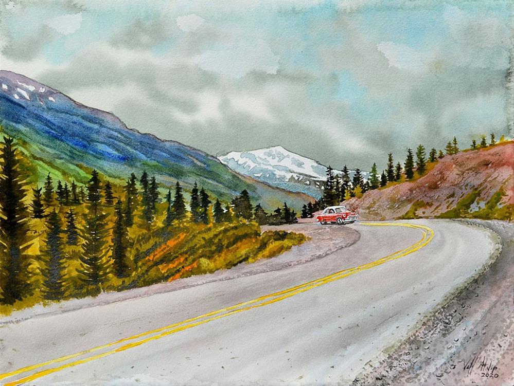"""Out West"" original fine art by Jeff Atnip"