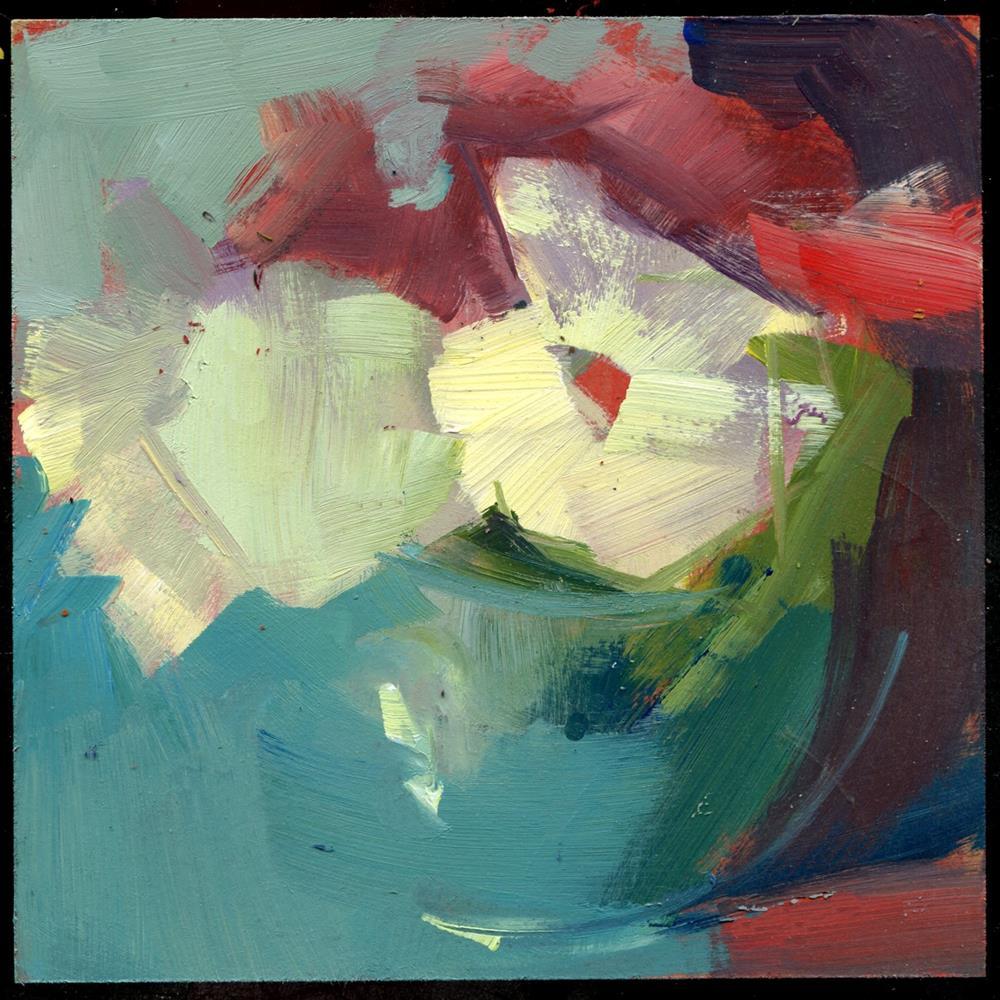 """""""2391 balancing"""" original fine art by Lisa Daria"""