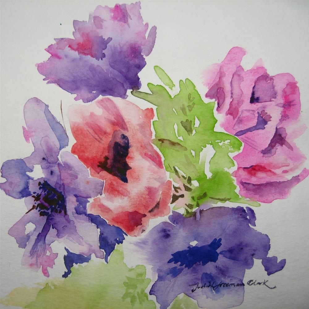"""Think Spring!"" original fine art by Judith Freeman Clark"