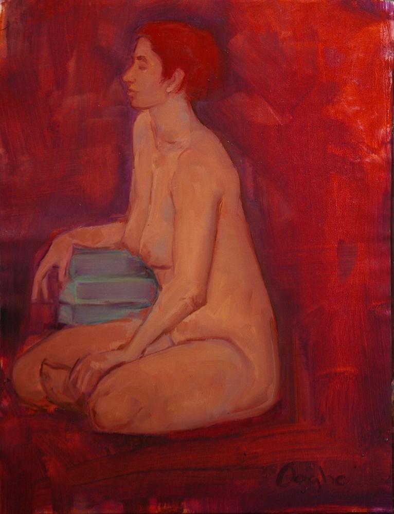 """Rachel"" original fine art by Angela Ooghe"
