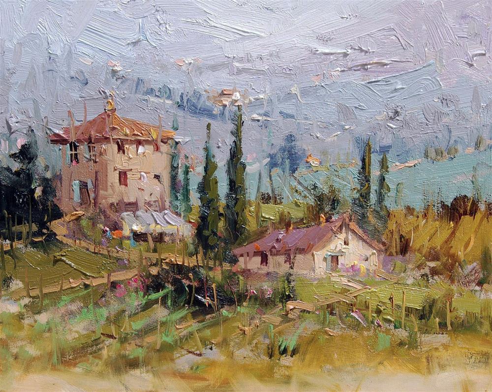 """Tuscany"" original fine art by Mostafa Keyhani"
