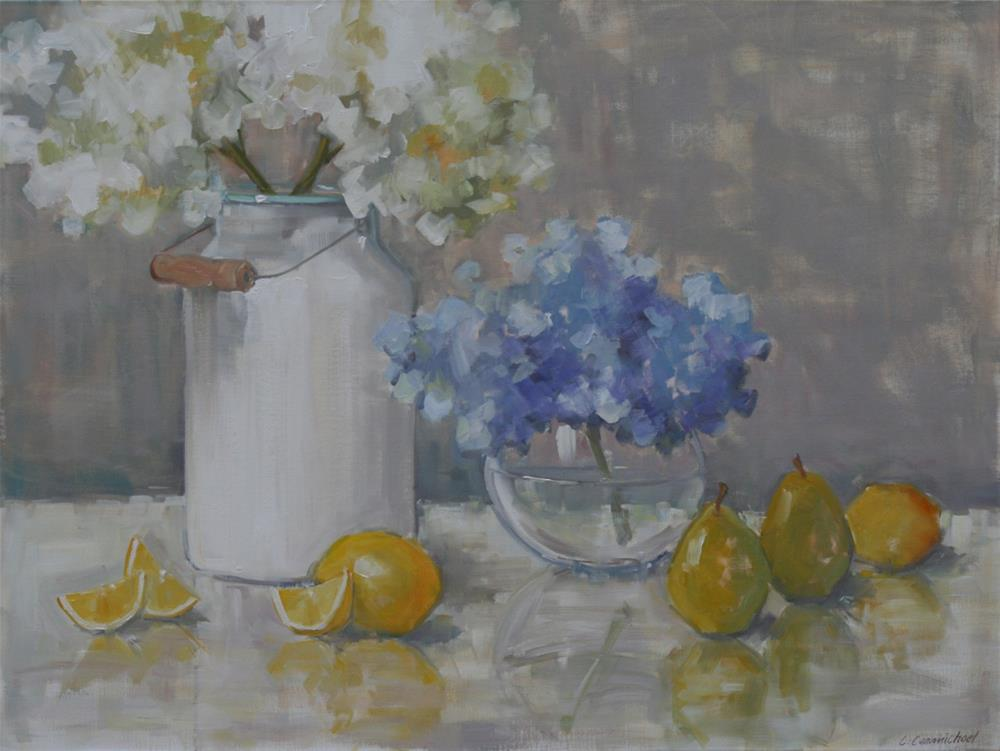 """""""happy summer"""" original fine art by Carol Carmichael"""