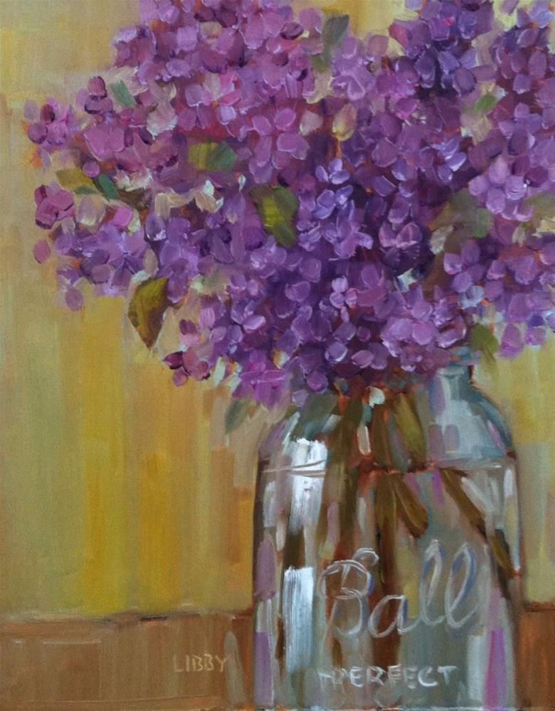 """Ball Jar"" original fine art by Libby Anderson"