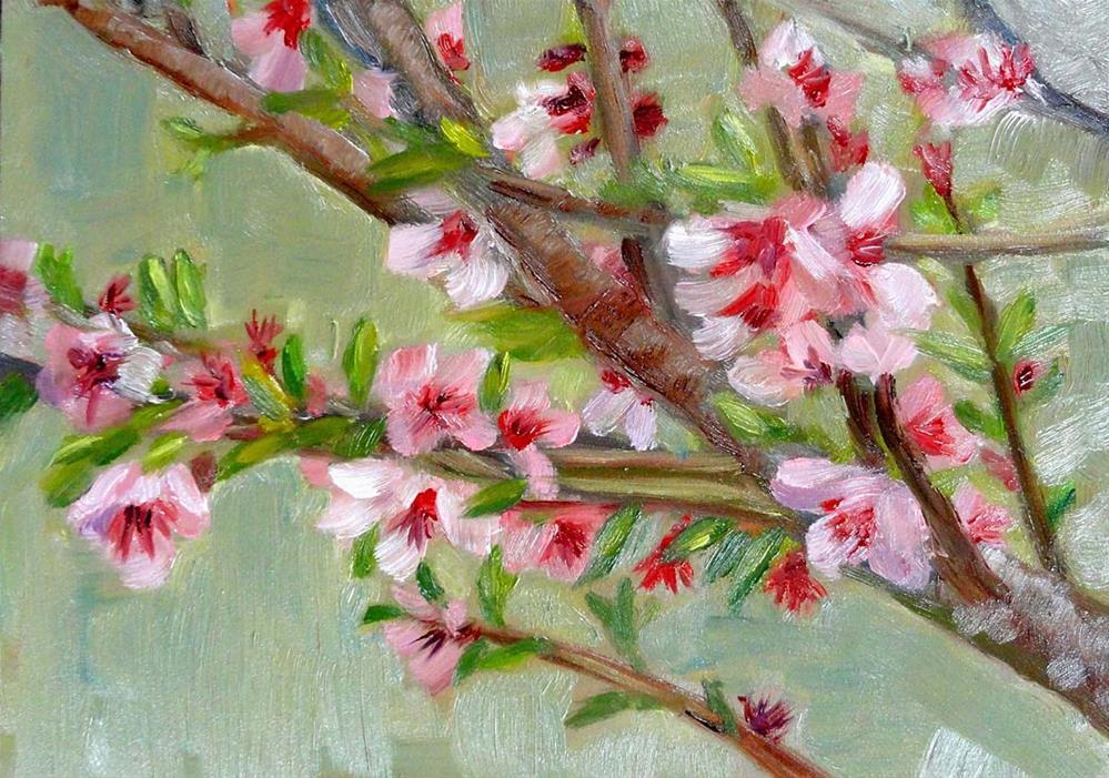 """""""Spring Gone Wild"""" original fine art by Cietha Wilson"""