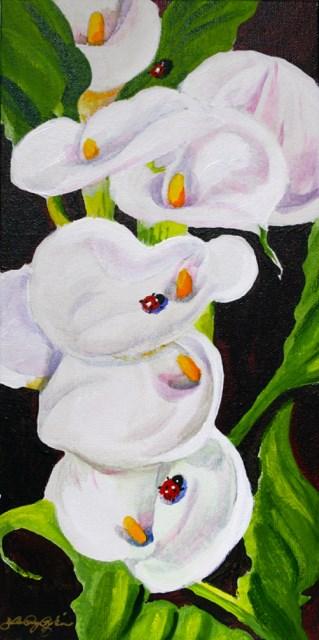 """Ladies Only"" original fine art by JoAnne Perez Robinson"