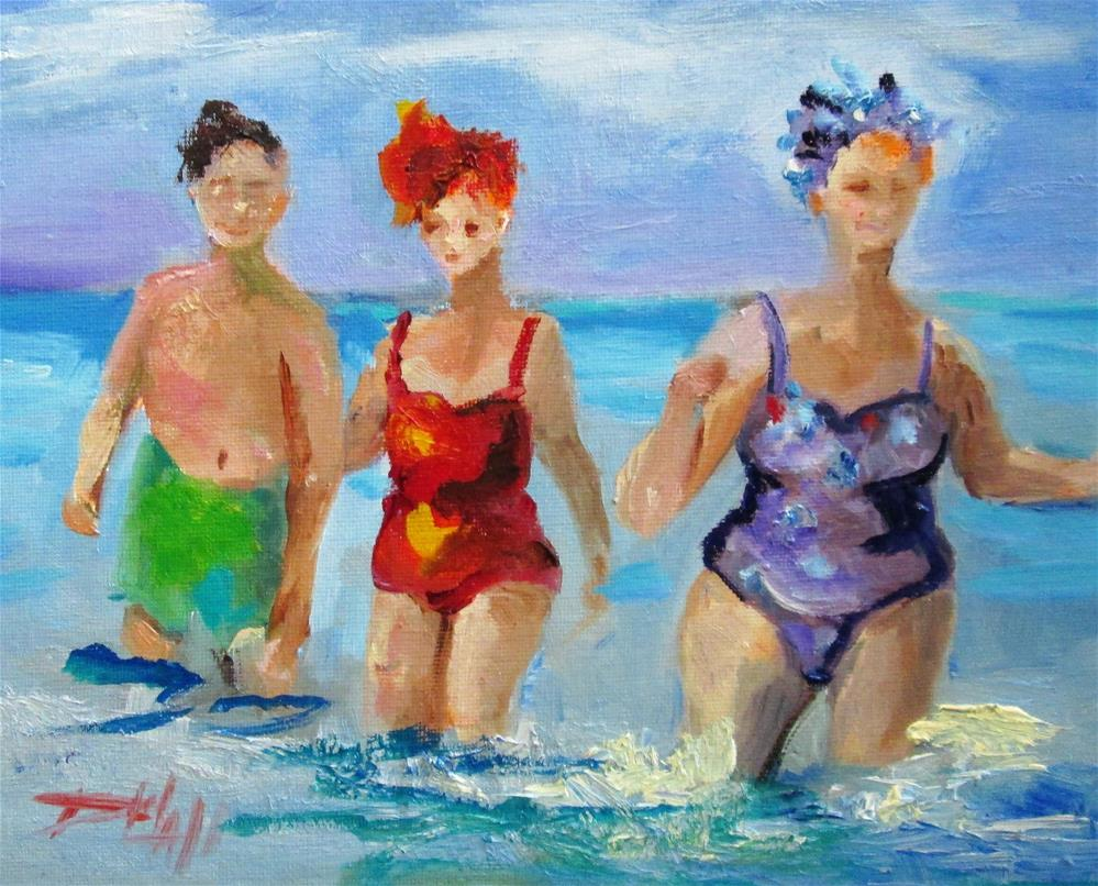 """Make a Splash"" original fine art by Delilah Smith"