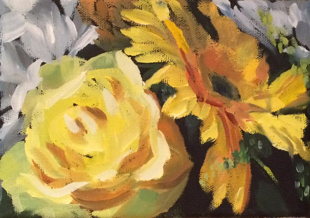"""Wedding Flowers"" original fine art by Philla Barkhorn"