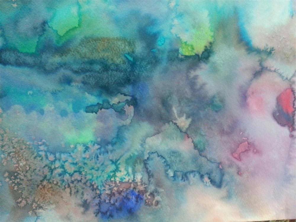 """Adalyn's Art"" original fine art by Jan D Williams"