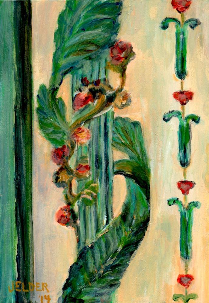 """Versailles No. 12"" original fine art by Judith Elder"
