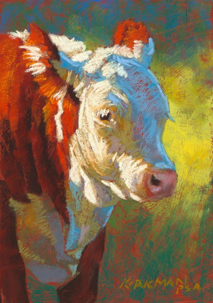 """Little Mac"" original fine art by Rita Kirkman"