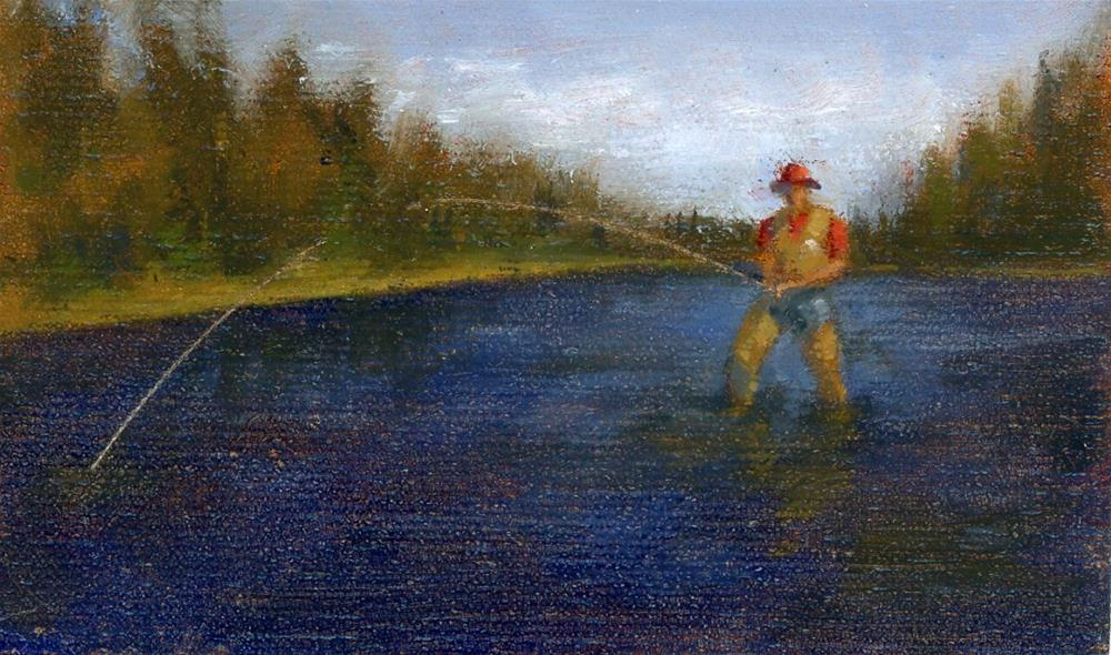 """Study for Commission"" original fine art by Susanne Billings"