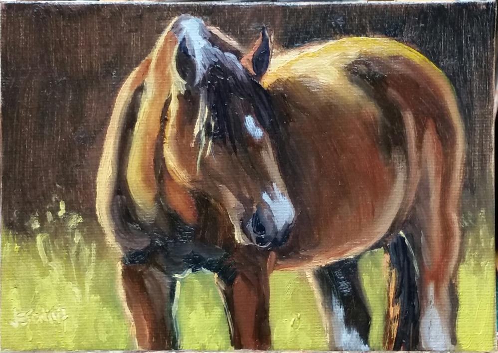 """Murdoc2-study"" original fine art by Veronica Brown"