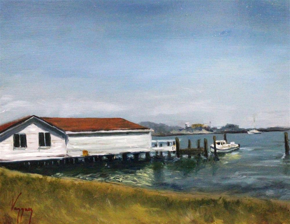 """San Francisco marina"" original fine art by Marco Vazquez"