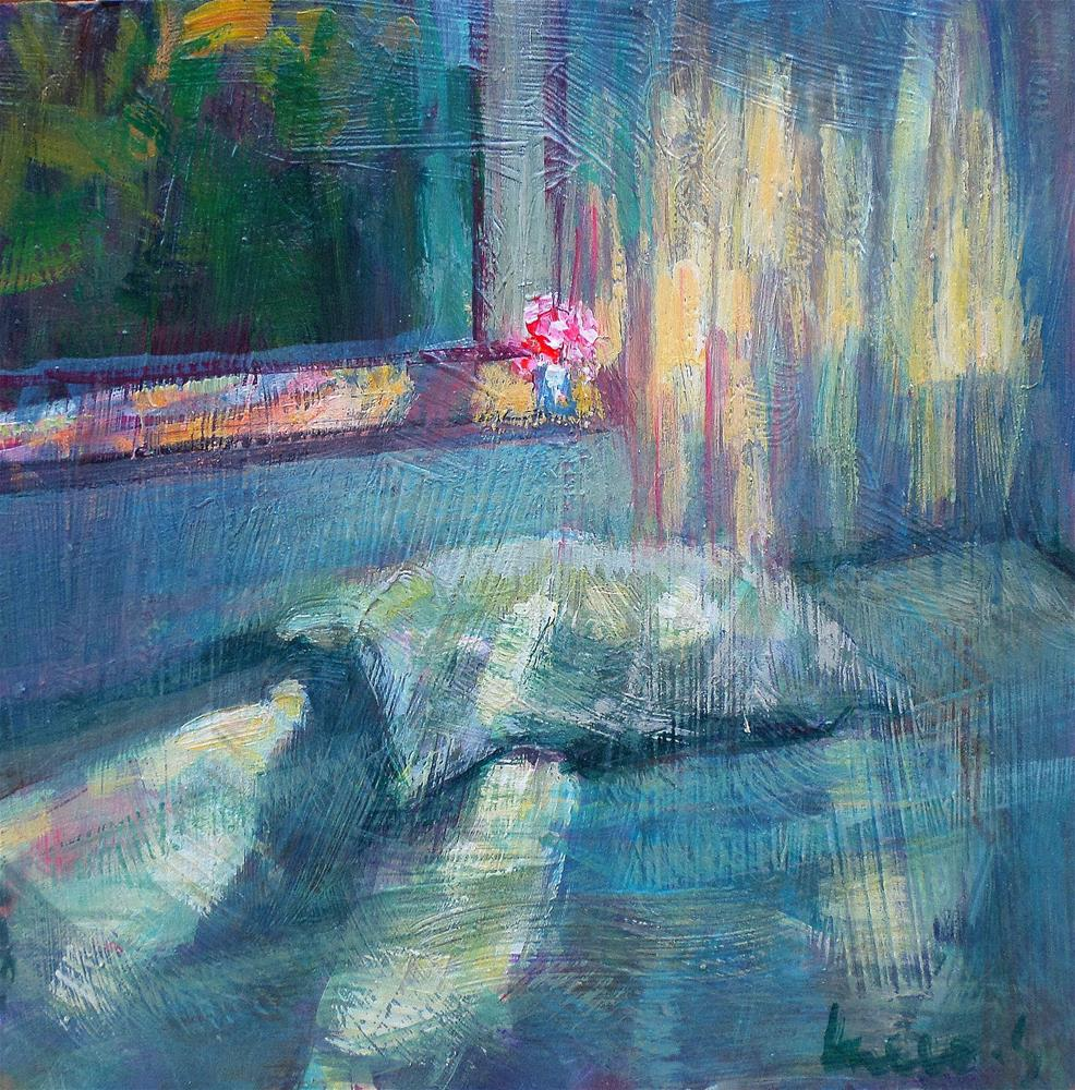 """Light in the bed"" original fine art by salvatore greco"