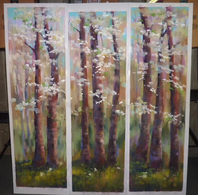 """My Largest Pastel Paintings EVER! Tips for Painting LARGE"" original fine art by Karen Margulis"