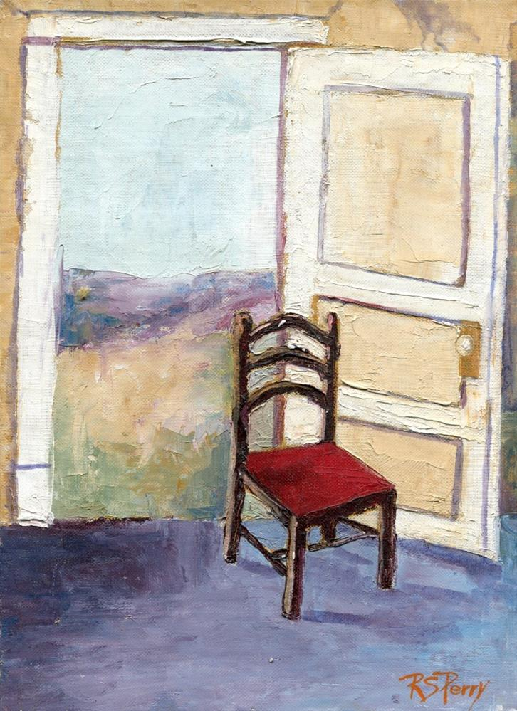 """The Open Door"" original fine art by R. S. Perry"