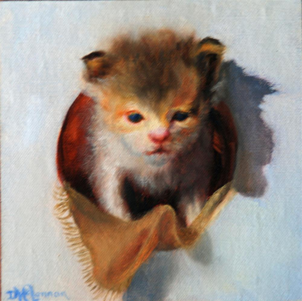 """Mini-Pearl"" original fine art by Dorothy McLennan"