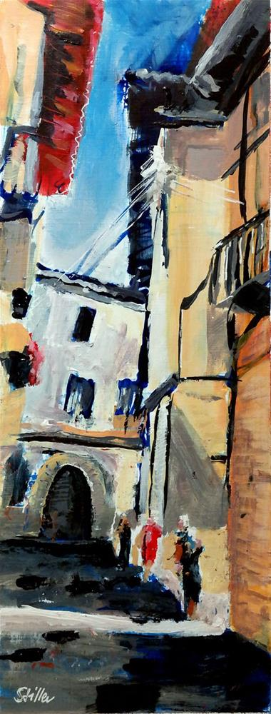 """2390 Palma Streetview 3"" original fine art by Dietmar Stiller"