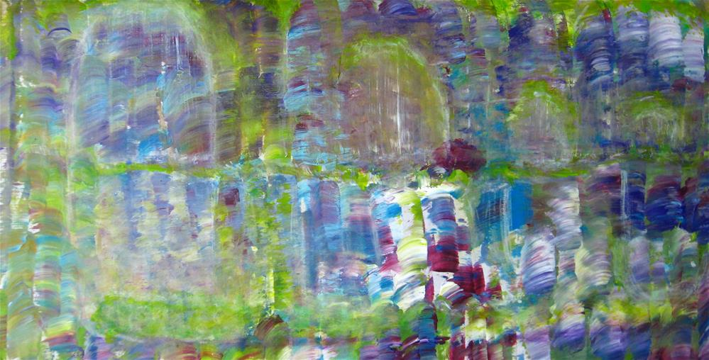 """Alone In The Garden"" original fine art by Alina Frent"
