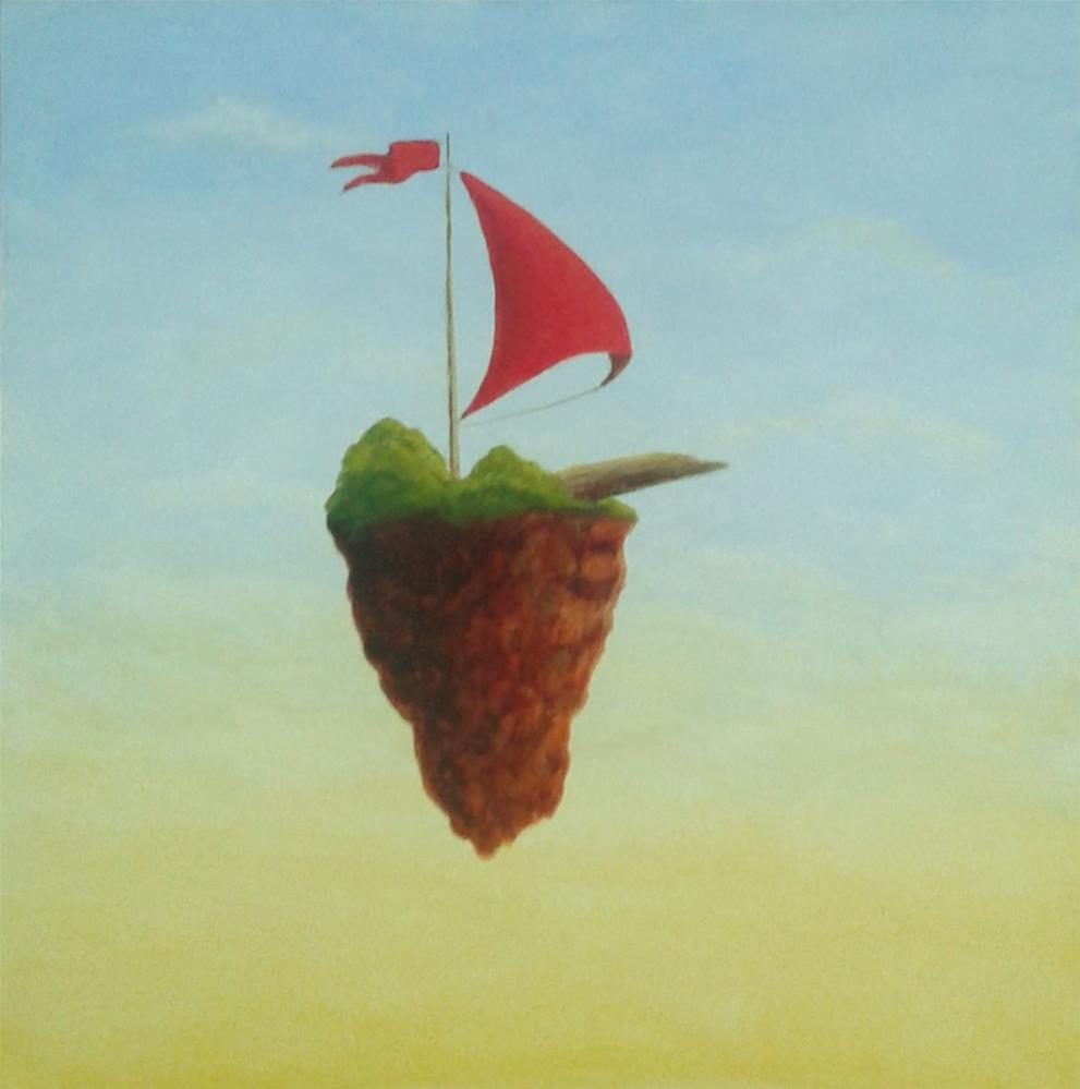 """Sail away"" original fine art by Staar Caswell"