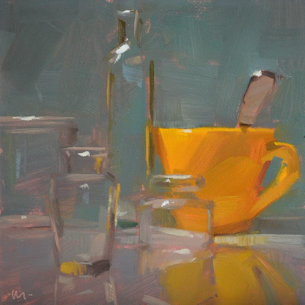 """""""Yella Fella"""" original fine art by Carol Marine"""