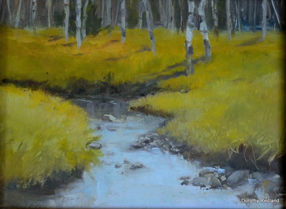 """Good fishin"" original fine art by Dorothy Redland"